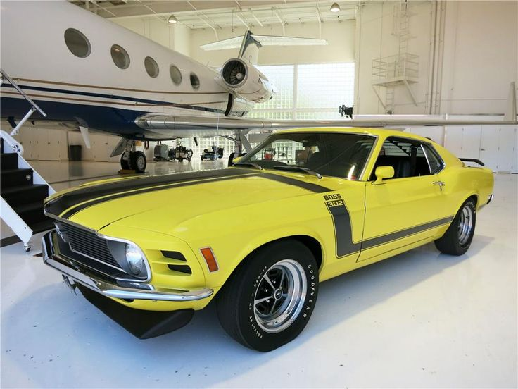 1970 FORD MUSTANG BOSS 302 FASTBACK - Barrett-Jackson Auction Company
