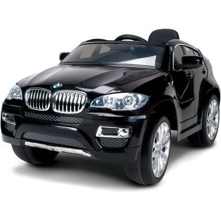 Toys Kids Huffy BMW X6 6-Volt Battery-Powered Ride-On Black - Ride On Toys & Accessories