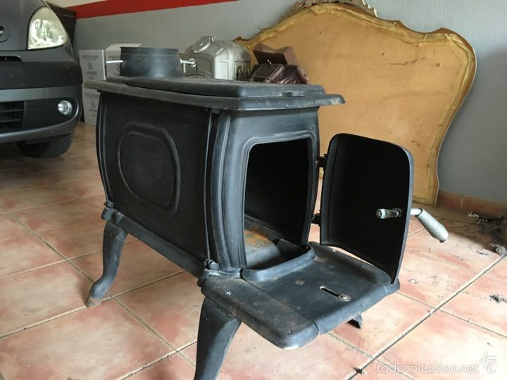 Las 25 mejores ideas sobre estufa antigua en pinterest - Como adaptar una estufa de lena a pellets ...
