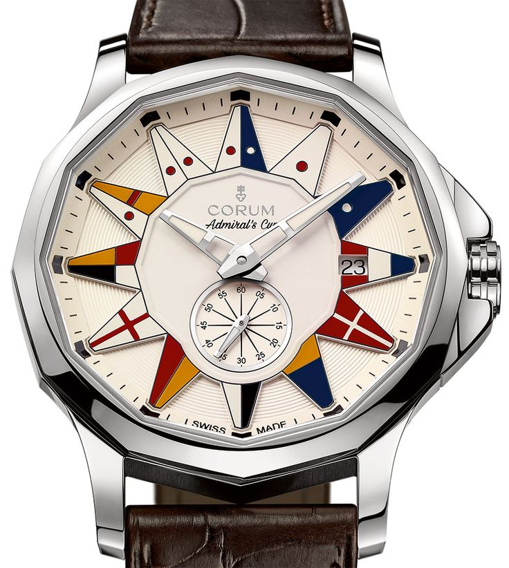"Corum Admiral Legend 42 Watches - by Richard Cantley - More on these nautical piece at: aBlogtoWatch.com - ""Though Corum has done some interesting work with their Bridge collection throughout the years, it is the Admiral's Cup that marks the brand's strongest and most recognizable design language. For 2016, Corum has released the Corum Admiral Legend 42 Auto and Admiral Legend 42 Chronograph watches that serve as a great counterpart to some of their more unusual pieces..."""