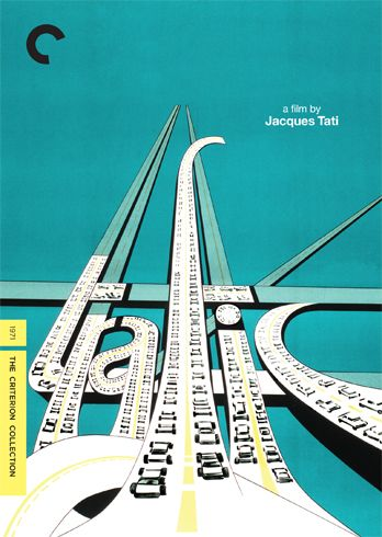 Criterion's traffic poster