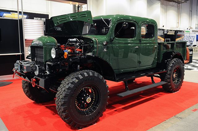 Legacy Power Wagon. Dodge with coolest vintage/concept vehicle lately.