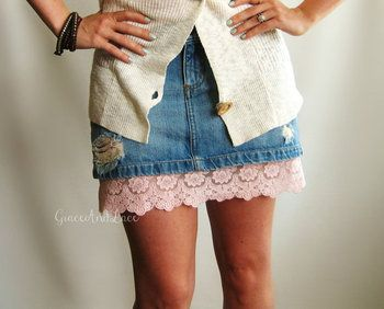 cute for under a skrit/dress/tunic that is just a couple inches too short. Grace and Lace - Lace Dress Extenders, $39.00 - found at (http://www.graceandlace.com/clothing-wholesale/lace-dress-extenders-1/)