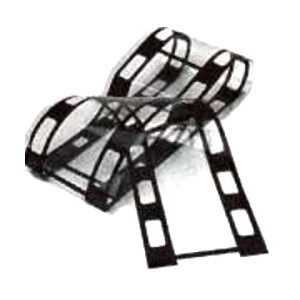 """Jumbo Filmstrip is 5"""" wide and 36"""" long. Use in Hollywood centerpieces or table decorations."""