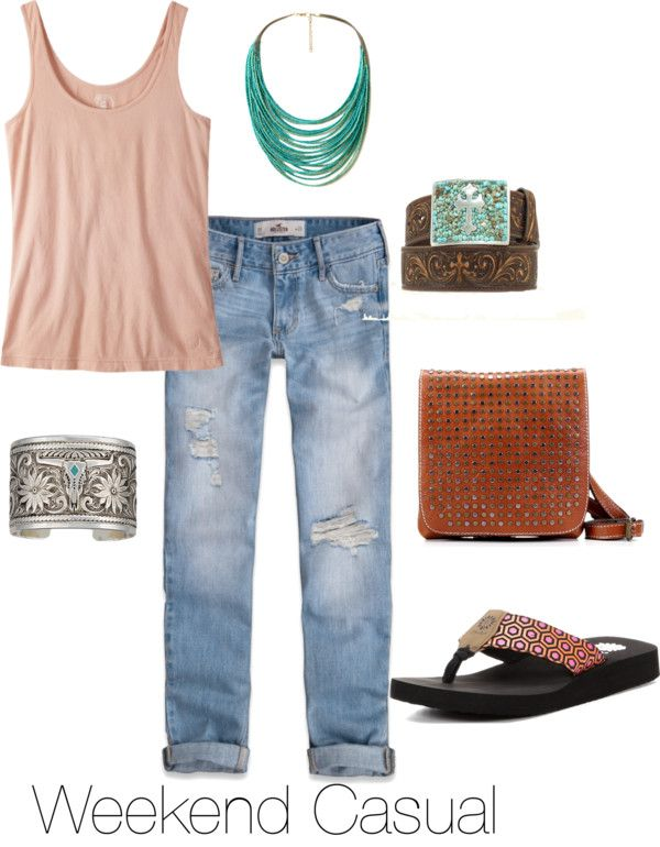 5 Ways to Wear Yellow Box Flip Flops: Weekend Casual #countryoutfitter #yellowbox