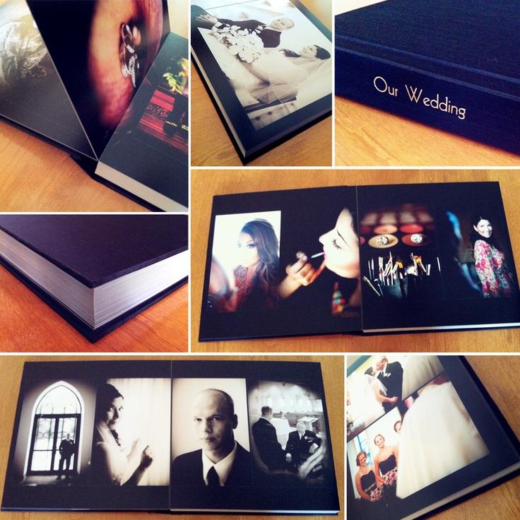 Elioso Design Custom Wedding Album by Leather Craftsmen