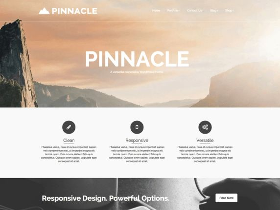 WordPress › Pinnacle « Free WordPress Themes