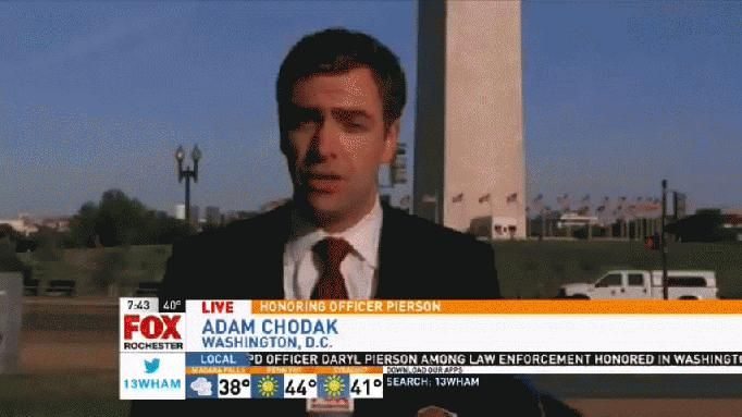As Officer Daryl Pierson and others are remembered for their sacrifice in the line of duty, Adam Chodak reports live from Washington, D.C. about this week's memorials.