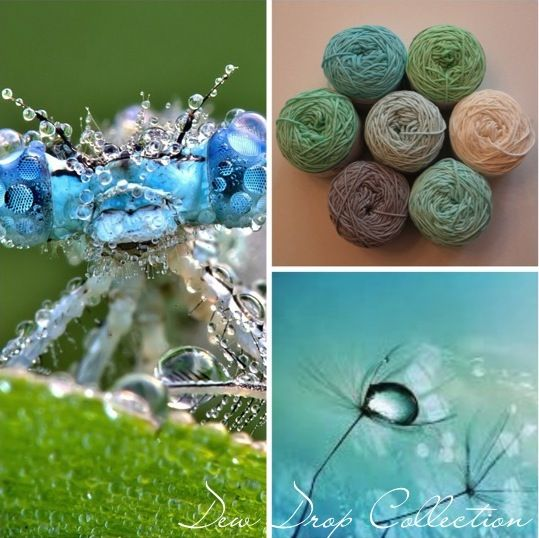 Dew Drop Collection for the I Love Yarn CAL 2014/2015. Contact info@iloveyarn.co.za for more information.