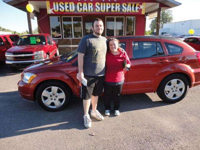 Congratulations to Lance Schoonover and Vanessa Mey on their purchase of a SHARP new Dodge Caliber! A BIG thanks from the Auto Group! We really appreciate the opportunity to earn your business and hope you enjoy your new ride!