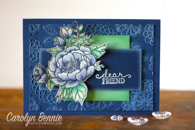 Birthday Blooms - Stampin' Up! Occasions Catalogue 2016 - Carolyn Bennie Independent Stampin' Up! Demonstrator carolynbennie.com