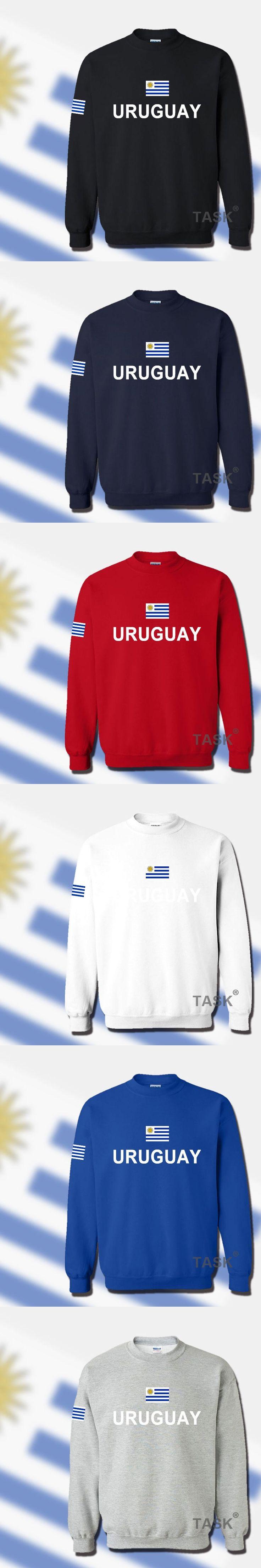 Uruguay Uruguayan hoodie men sweatshirt sweat new hip hop streetwear footballer sporting tracksuit nation 2017 country flag URY