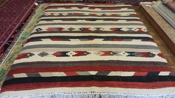 Monday Fun Day!  Family, Friends and Followers...  Deal of the day on this one!  Directly Imported, Hand Knotted Kilim, made in Afghanistan, aprox. size: 6.4 x 4.10 priced at $295!  WHAT?!?!  ;-0  Price is good all day until 4:00PM!  Give us a call at 205-870-4444 if you like it!  http://www.nilipour.com #nilipourorientalrugs #happycustomer #artyoucantreadon #flatweave #kilim #dealoftheday #orientalrug #rug #arearug #scotchgard #Birmingham #Alabama #Homewood #shoplocal #wholesaleprices