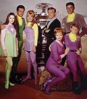 Lost in Space. HAHA...we didn't have color TV. Never knew these were the colors…