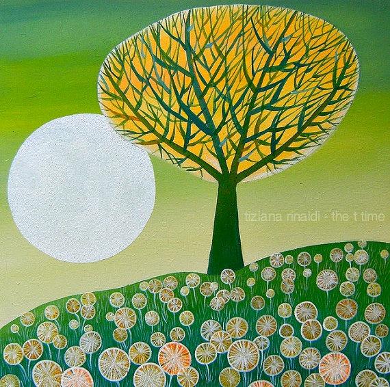 The full moon tree - www.tizianarinaldi.it