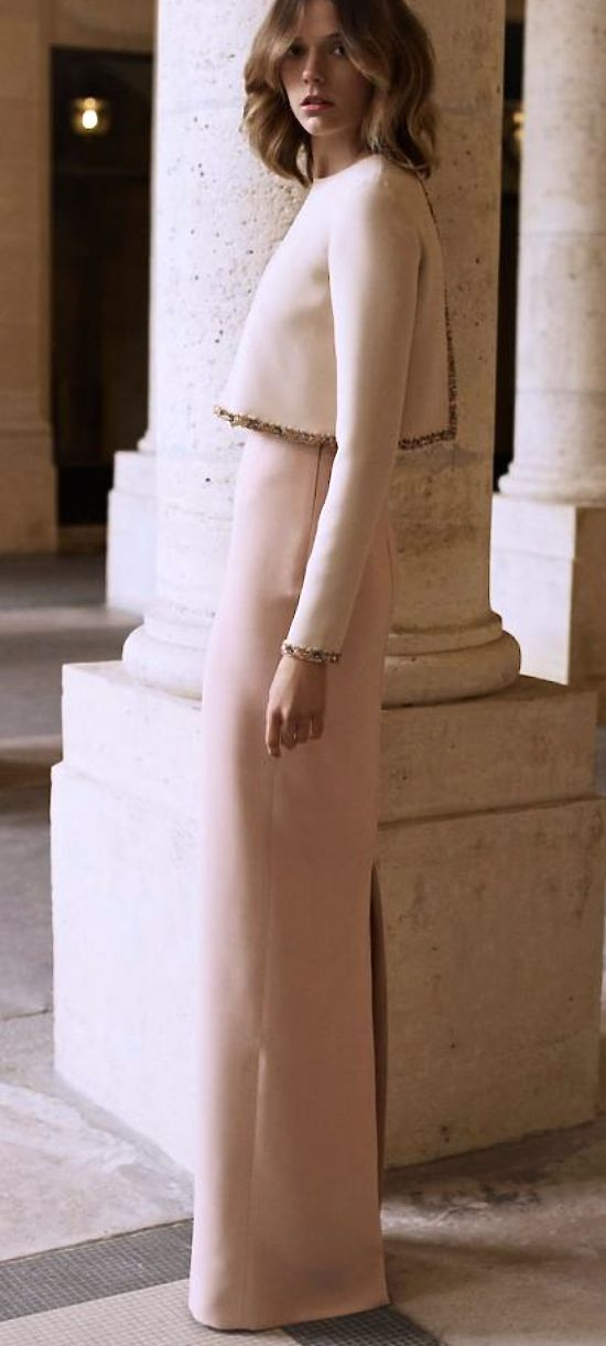Christian Dior - Love it!!!! The small details and simplicity add to the sophistication of the ensemble.