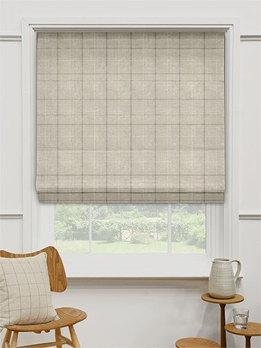 Amberleigh Biscuit Roman Blind from Blinds 2go