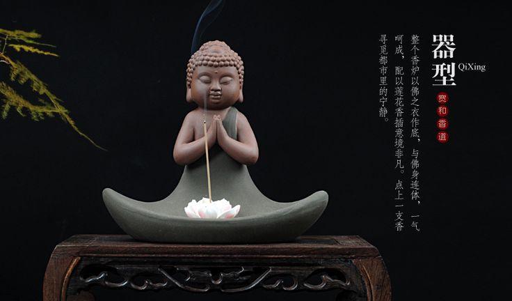 Dehua керамические Будды, ладан и обогреватели Горе отправить 2 Лотоса кадило, лотоса аромат ладана и пакет почты купить на AliExpress