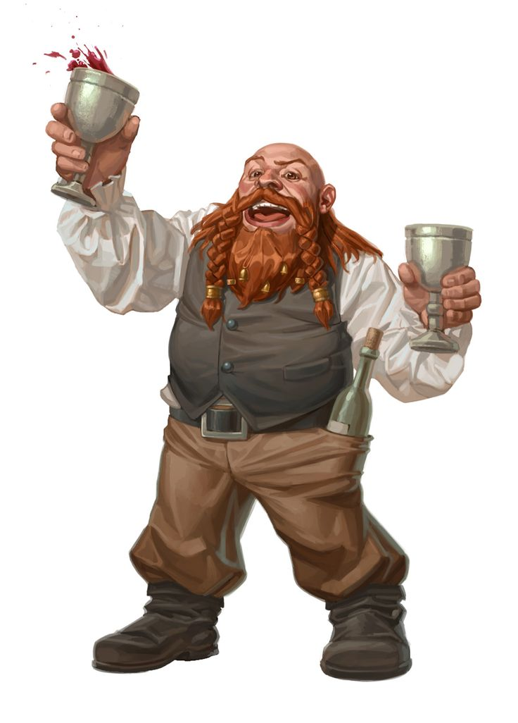 Party Dwarf by capprotti.deviantart.com on @DeviantArt
