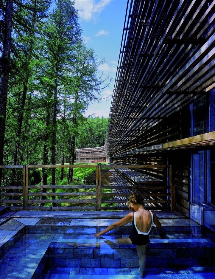 Eco-friendly Vigilius Mountain Resort in Merano, Italy by Matteo Thun & Partners