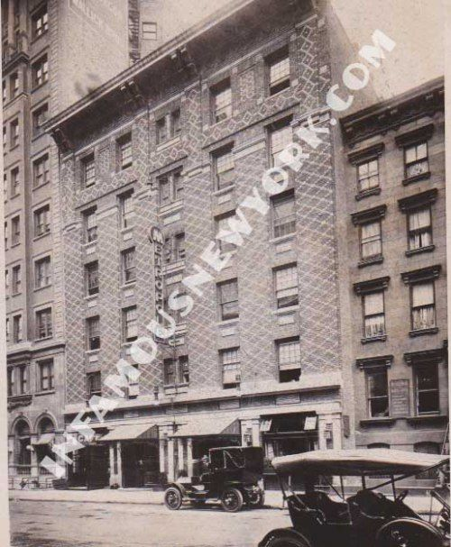 Owned by Tammany Hall powerbroker, Big Tim Sullivan,The Metropole boasted a 24 hour liquor license and a casino managed by Arnold Rothstein.