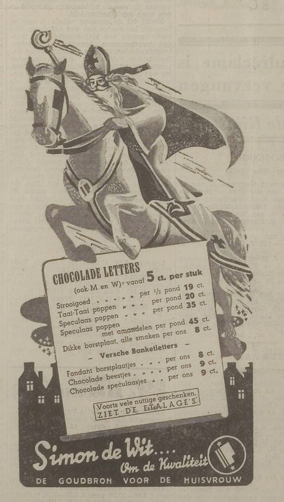 Advertentie 1937
