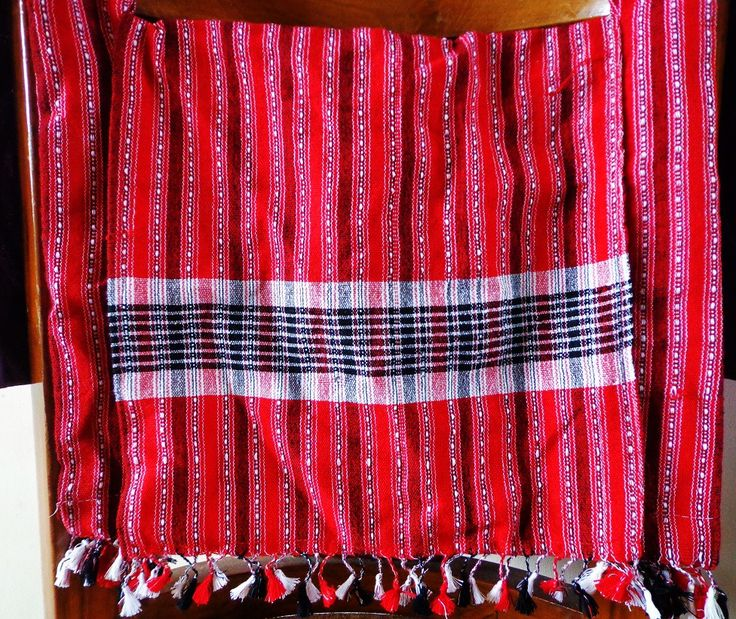 Jhola Bag - Red from Lal10.com