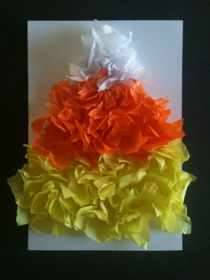 photo relating to Printable Tissue Paper identified as Sweet corn tissue paper craft - Print Sale