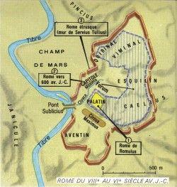 La date de la Fondation de Rome par Romulus, le 21 avril -753