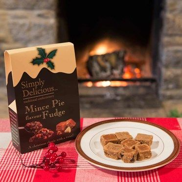 Mince Pie Fudge 5505CX Mince Pie Fudge - Christmas on a plate!We love our fudge here at The Present Finder