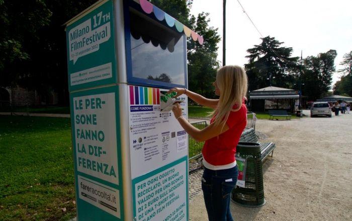 In Sardegna la prima postazione di Fare raccolta, una bottiglia di plastica vale 10 centesimi