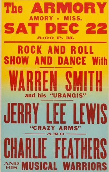 Warren Smith, Jerry Lee Lewis rockabilly show....