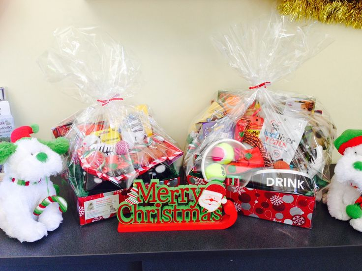 Our two hamper prizes :)