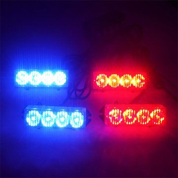 4x4 16LED 16W Car Fog Warning Strobe Flash Light Sale - Banggood.com