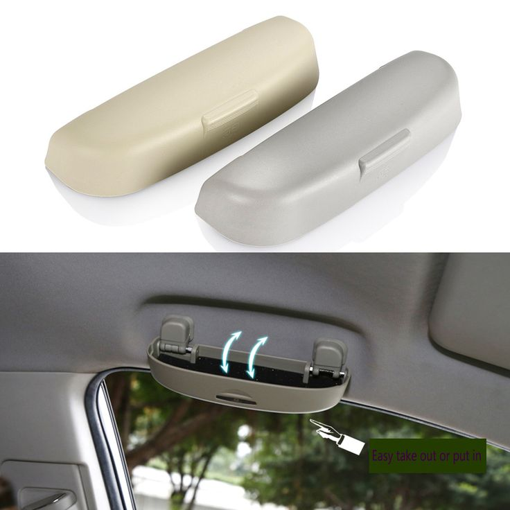 Car-Styling Car Glasses Box Case Holder For Renault Duster Jeep Compass Car Styling Accessories For Volvo S90 XC90 S80L V60 V40 #Affiliate