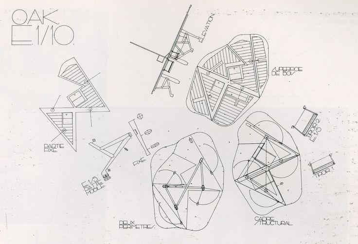 """""""This is a table that explains a certain way of working in which the things themselves become actors, in which the ocupation of spaces is attentively studied, and in which the idea of time passing is played with"""". (...) """"The table can be folded and moved to assume different positions, almost becoming a landscape that can change daily"""" #EnricMiralles"""