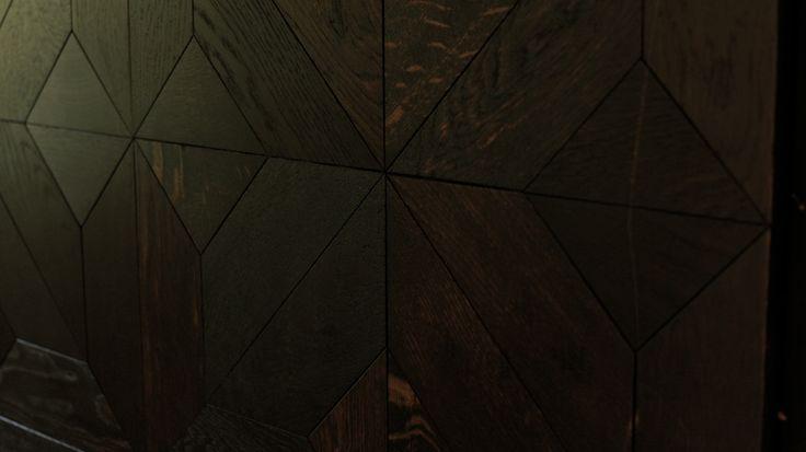 Halcyon pattern - black