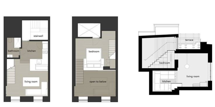 Манхэттен микро-Лофт: по Спехту архитекторов