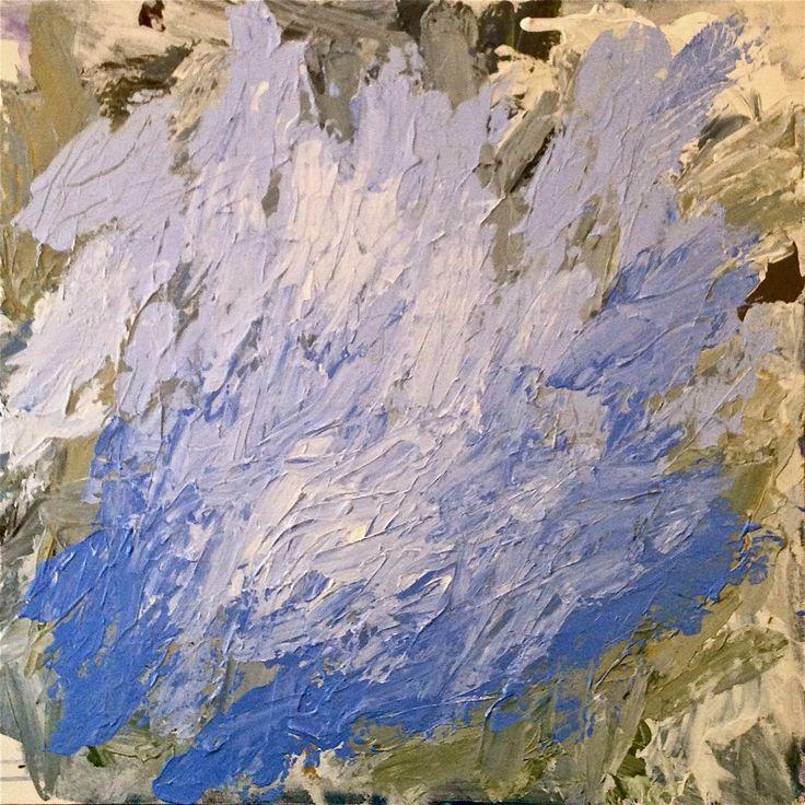 'Aida', acrylic on canvas, 76cm x 76cm