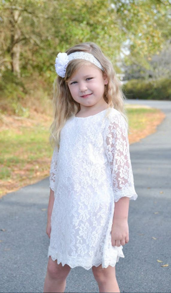 Vintage Flower Girl Dresses,Wedding Party Gowns,Maxi Girl Flower