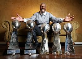 Charles Haley...one of these days, he won't get screwed over and will make it in the Hall of Fame!!