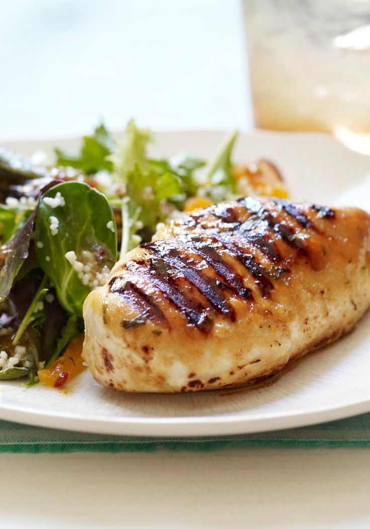 Grilled Chicken & Couscous Salad with Tarragon-Mustard ...