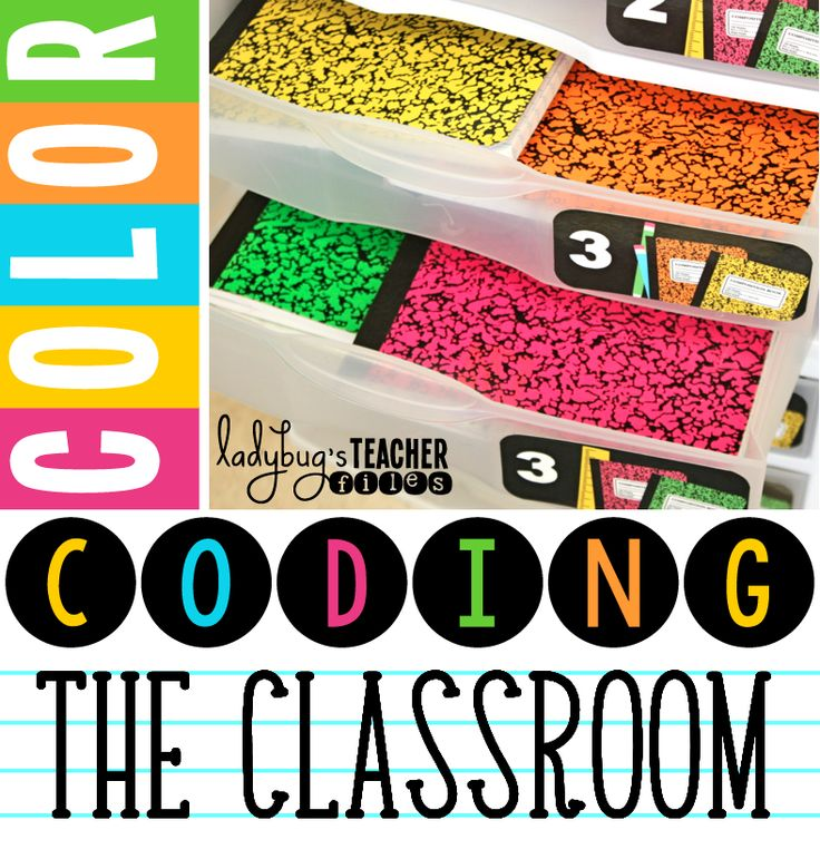 Color Coding the Classroom: color and cohesion to help keep you and your students organized