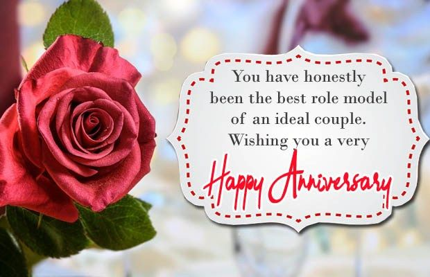 Happy Marriage Anniversary Wishes For Husband Wife On Facebook In