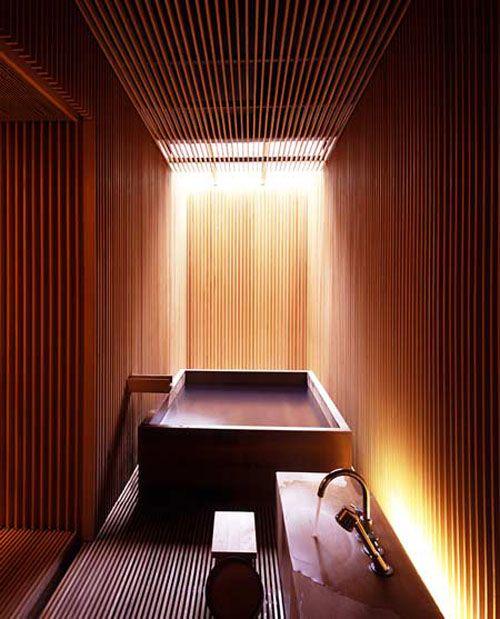 Ginzan Onsen Fujiya Spa Hotel, designed by Kengo Kuma & Associates, Japan