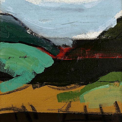 Landscape oil painting 16-098