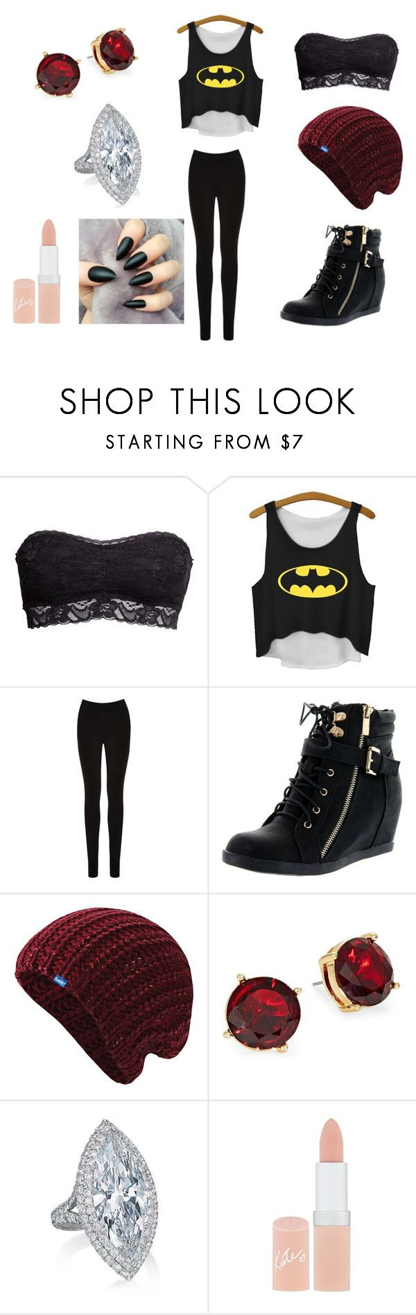 """""""Outfit #98"""" by dragonwolfhorse ❤ liked on Polyvore featuring H&M, Oasis, Top Moda, Keds, Lauren Ralph Lauren and Rimmel"""