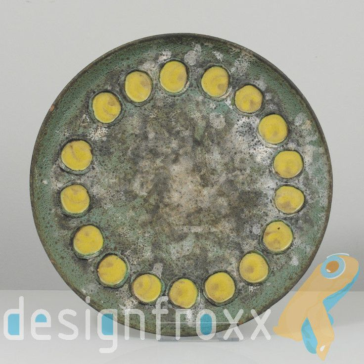 Great Mid Century Modern Pottery Bowl Ceramano Toscana Design Hans Welling $69