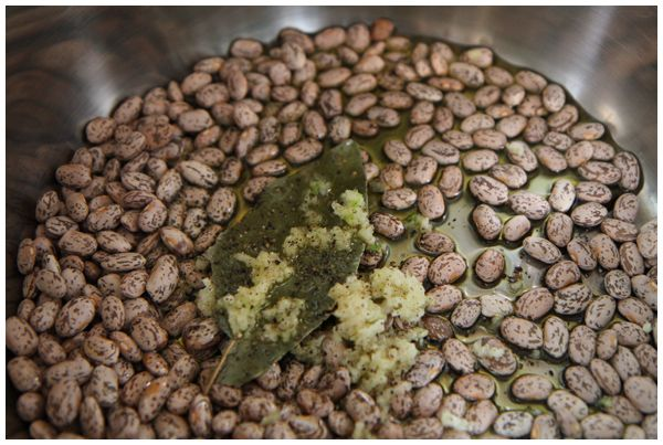 how to cook peruvian beans in a pressure cooker