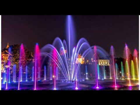 Польша. Варшава. Multimedialny Park Fontann